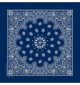 The Bandanna Co. Bandanna Co. Paisley Navy 22'' X 22''
