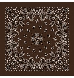 The Bandanna Co. Bandanna Co. Paisley Coco 22'' X 22''
