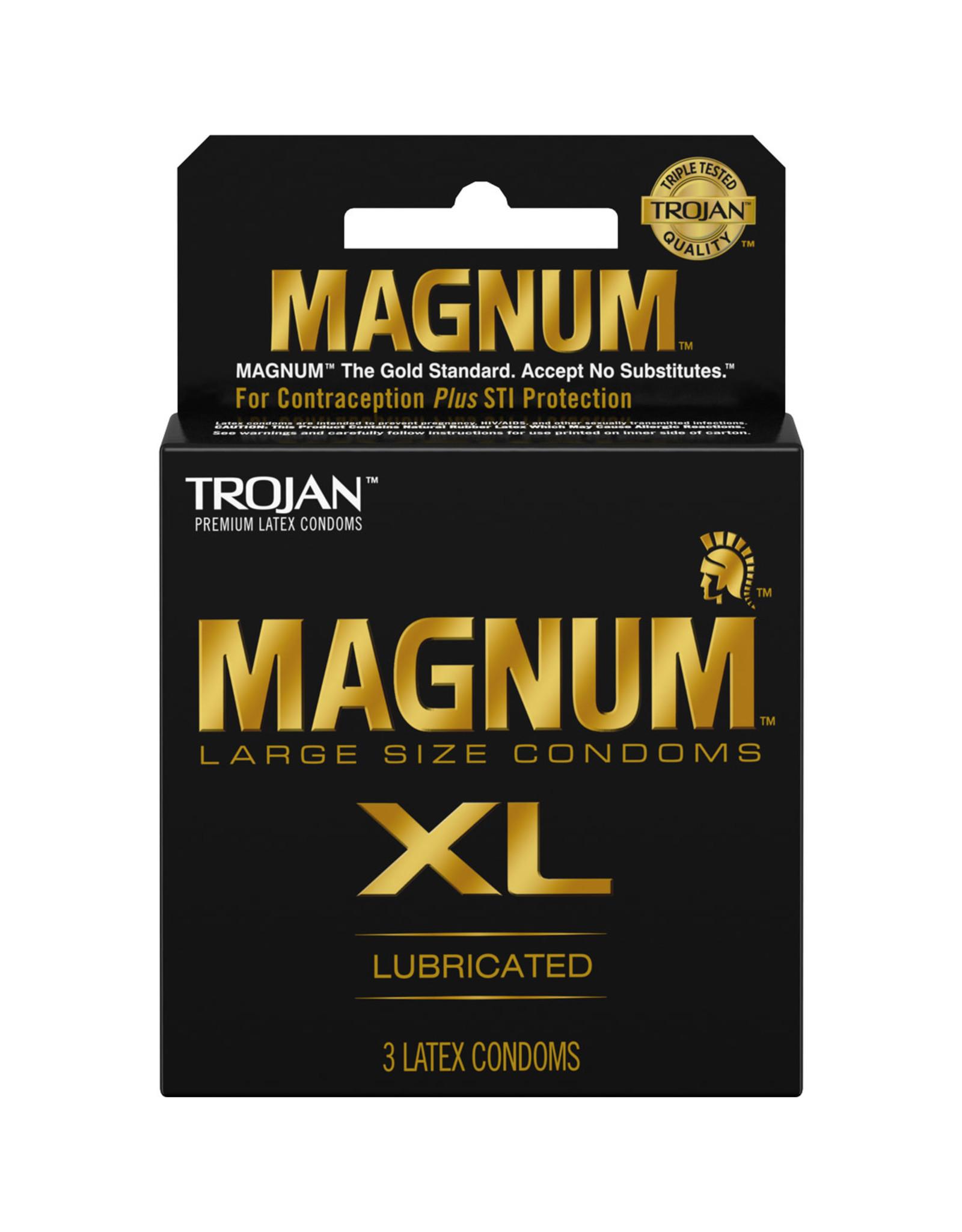 Trojan Trojan Magnum XL Condoms 3pk