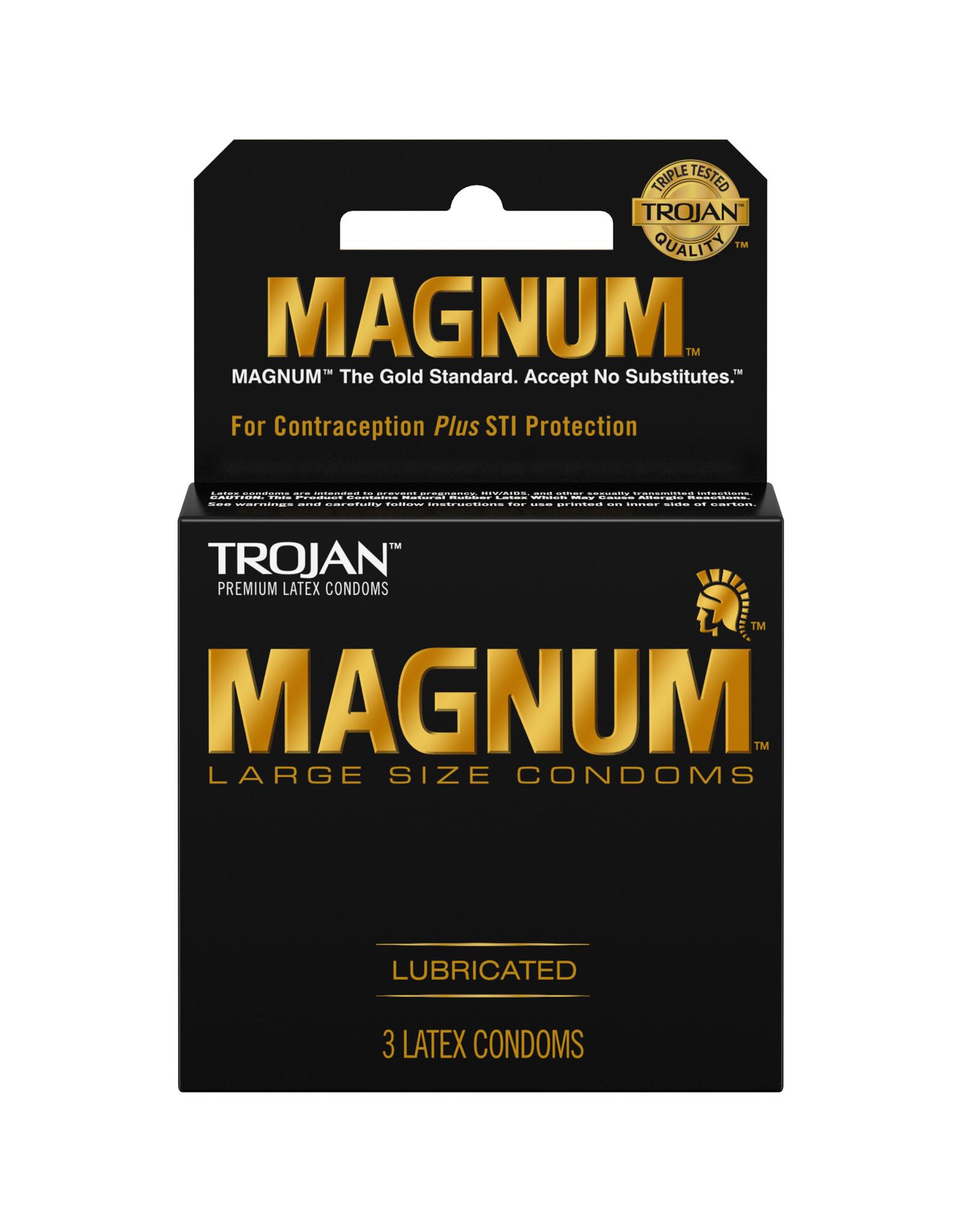 Trojan Trojan Magnum 3pk