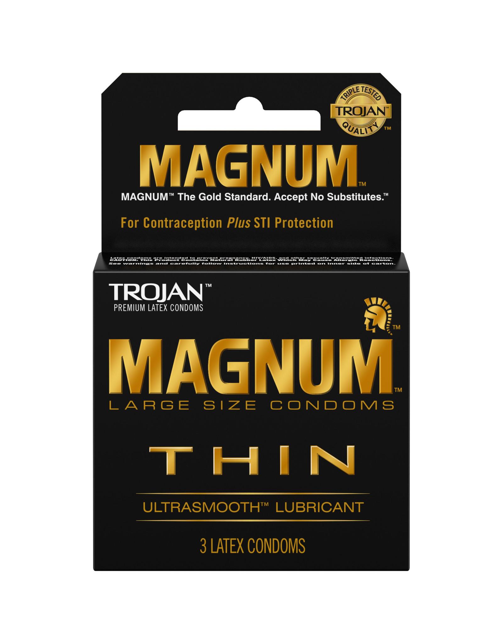 Trojan Trojan Magnum Thin 3pk