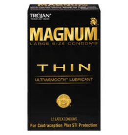 Trojan Trojan Magnum Thin 12pk