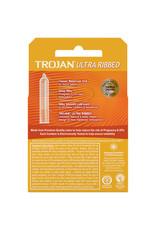 Trojan Trojan Ultra Ribbed Condoms 3pk