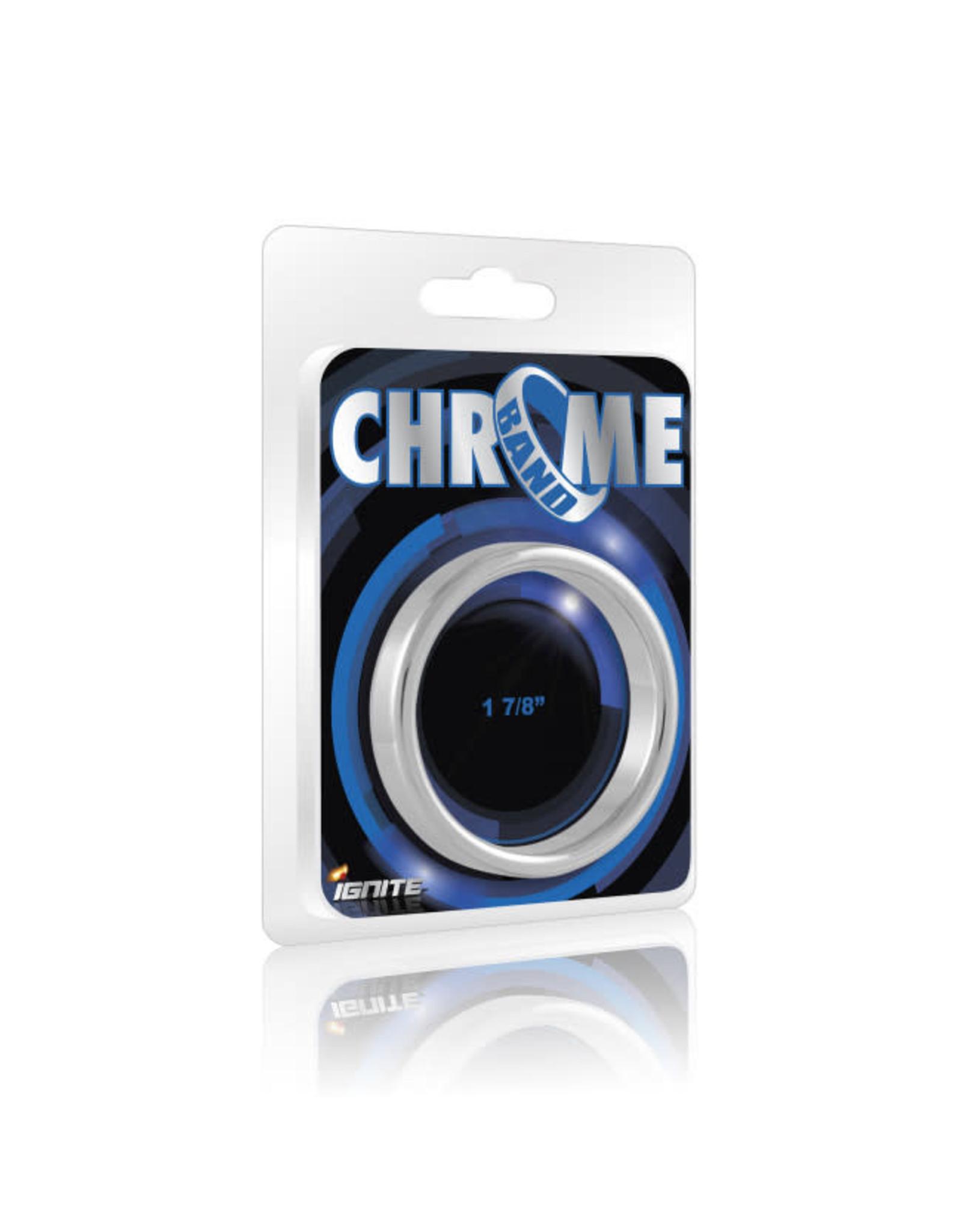 Ignite Ignite Chrome Band Cockring