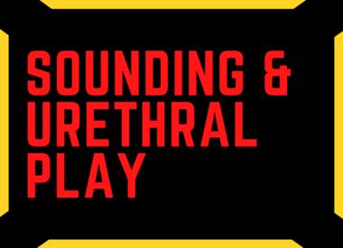 Sounding & Urethral Play