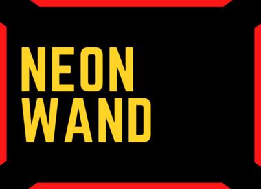 Neon Wand