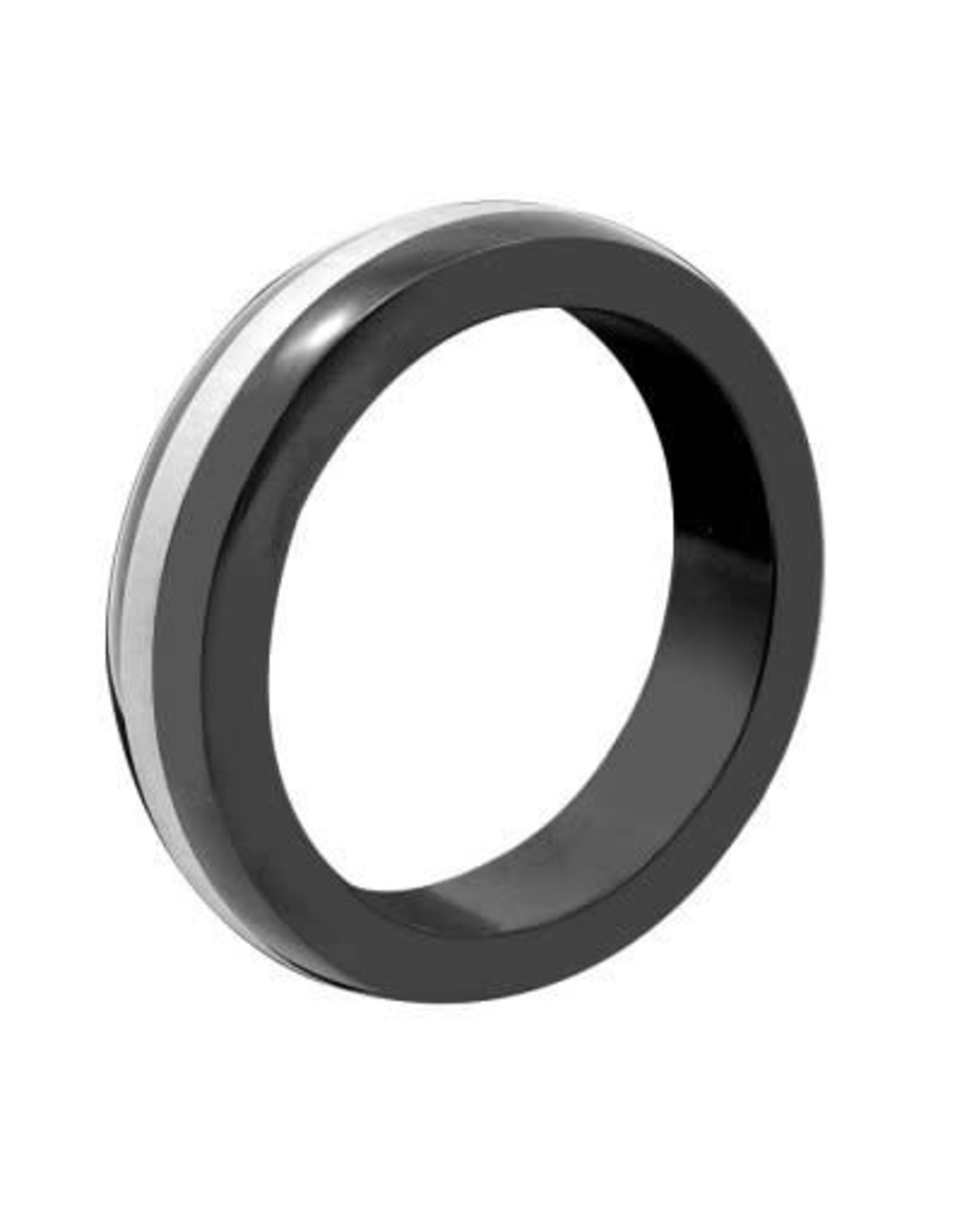 M2M M2M Stainless Steel Black with Chrome Band