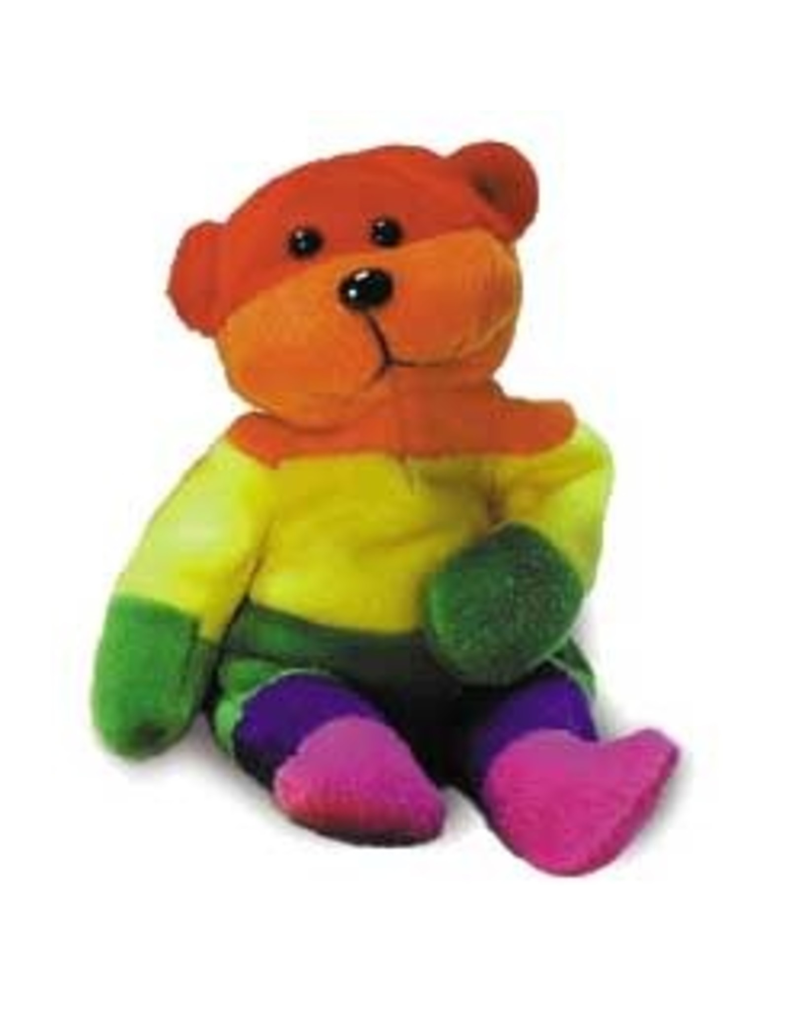 Pride not Prejudice Pride... Rainbow Plush Bear