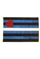 Pride not Prejudice Pride... Leather Pride Flag-Nylon 3'x5'