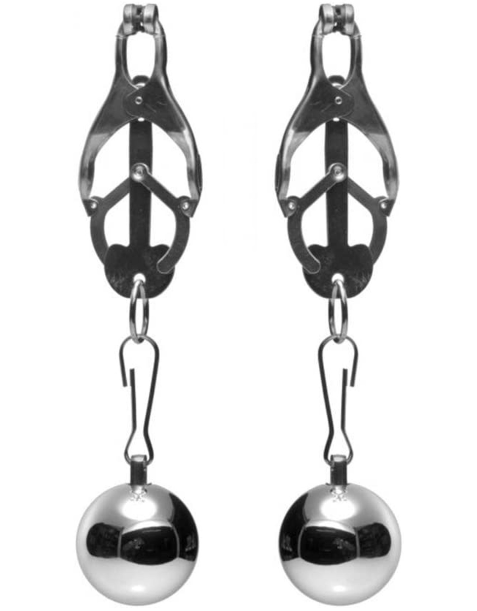 Master Series Master Series Deviant Monarch Weighted Nipple Clamps