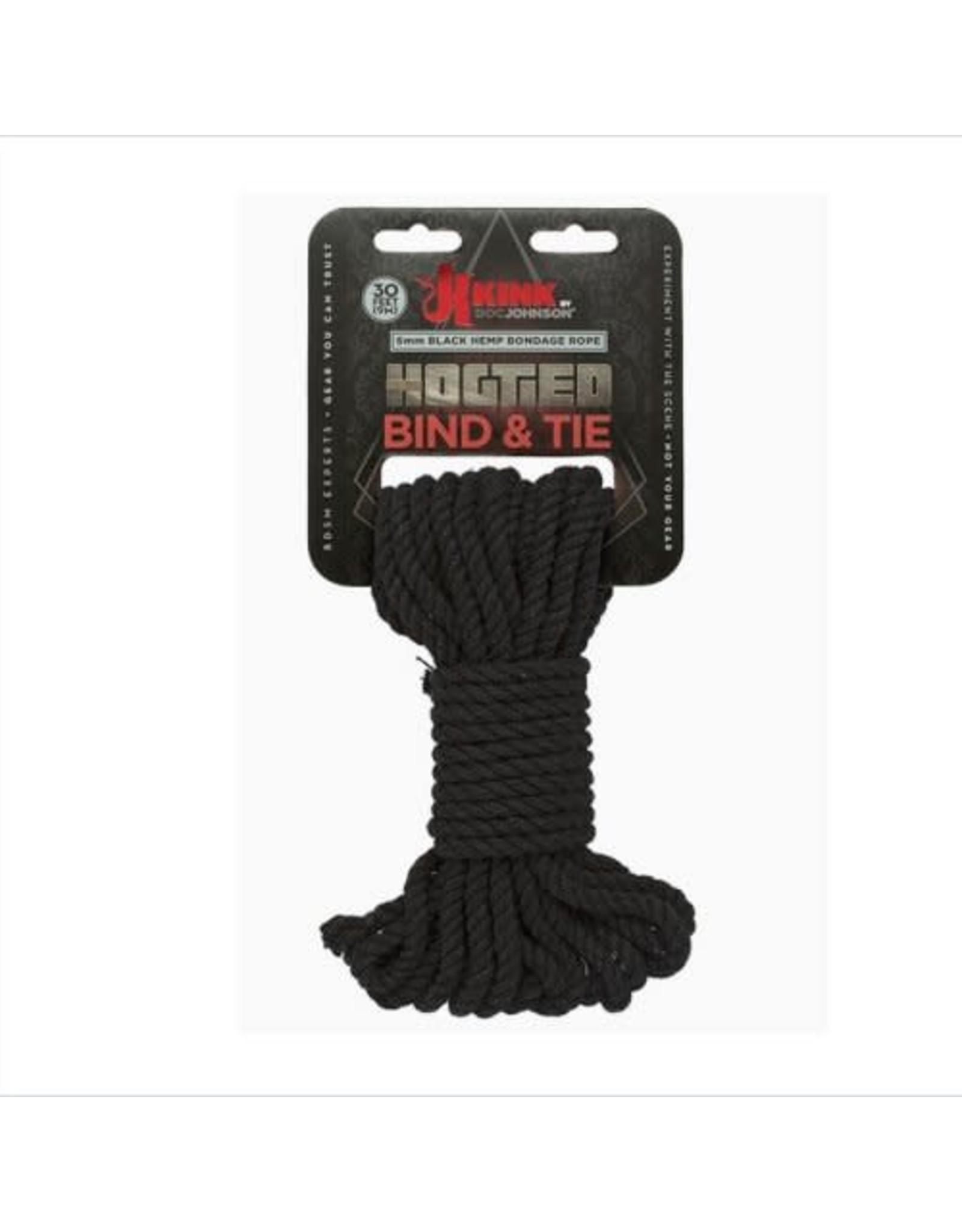KINK KINK Hog-Tied 6mm Hemp Rope