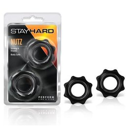 Stay Hard Nutz 2 pack Black
