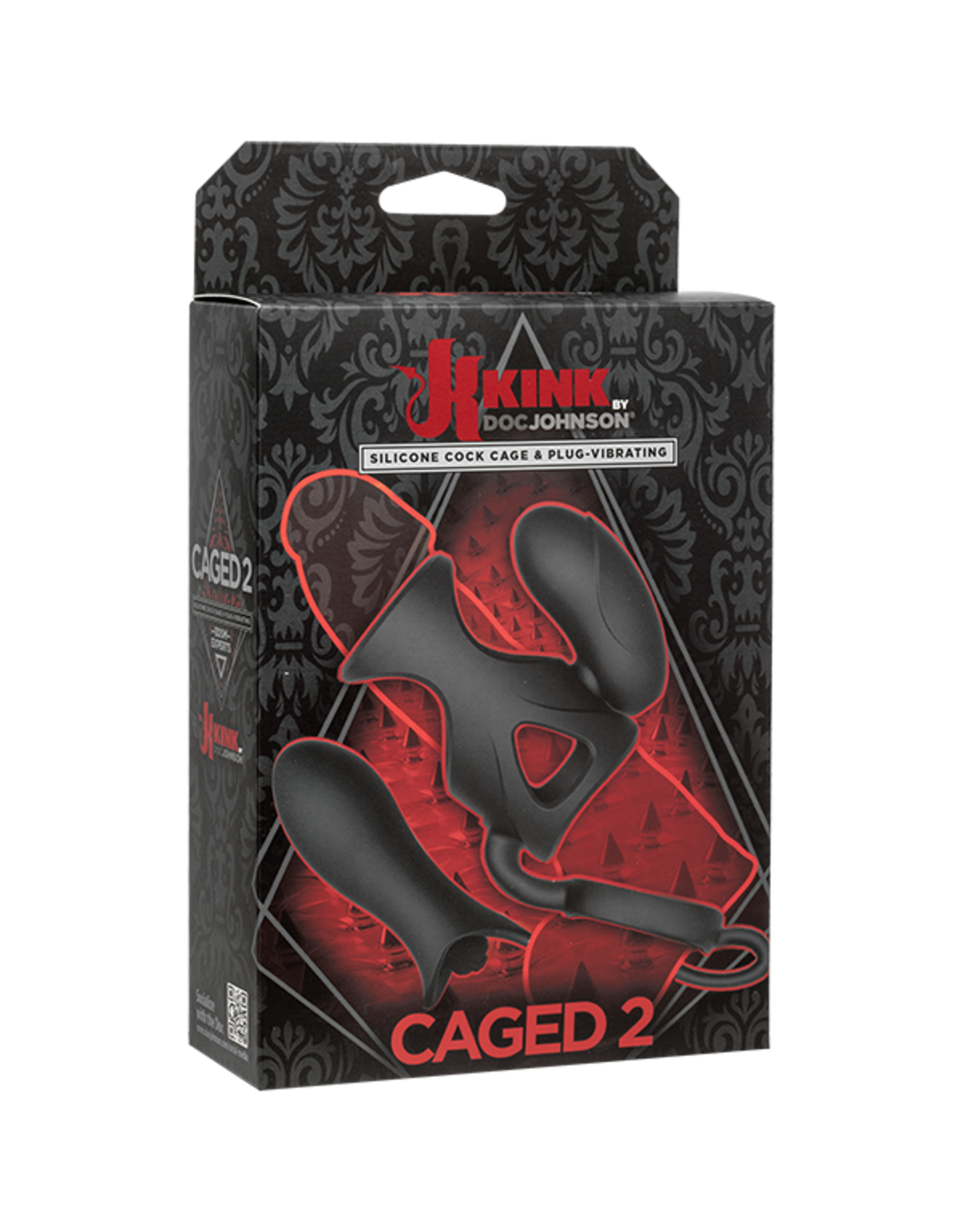 KINK Clearance KINK Caged 2 Silicone Cock Cage/Vib