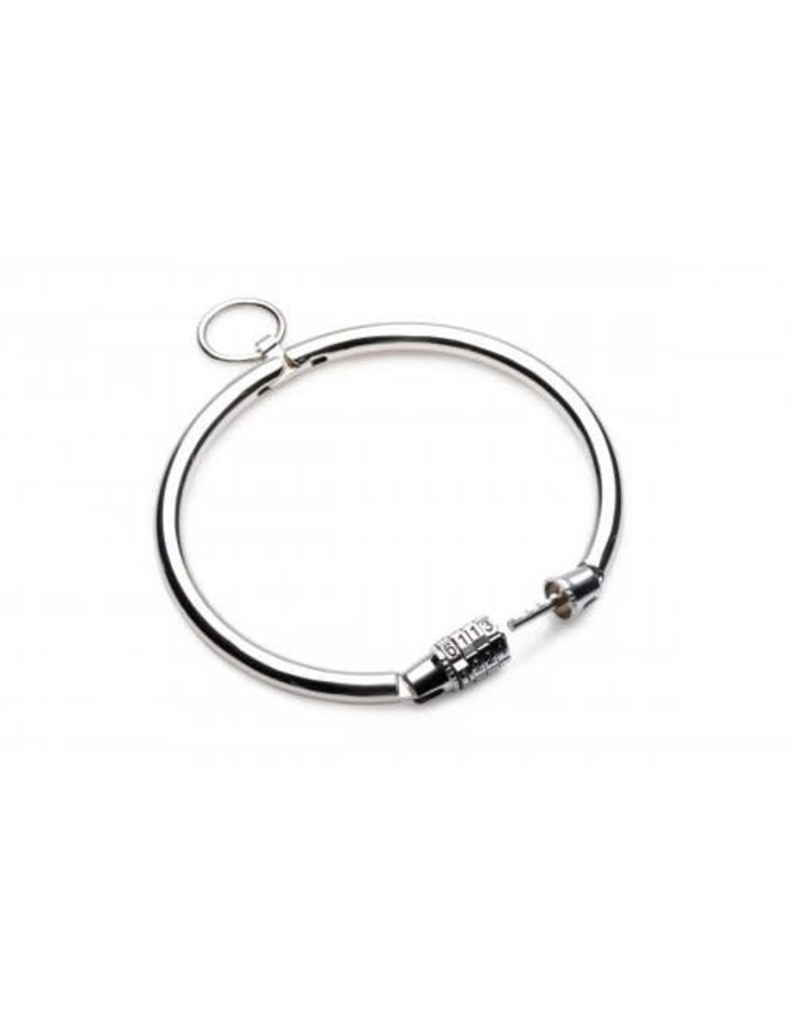 Master Series Master Series Stainless Combo Lock Slave Collar