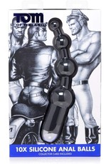 Tom of Finland Tom of Finland 10X Silicone Anal Balls