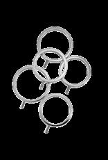 ElectraStim ElectraStim ElectraRings Solid Metal Cock Rings (5 pack)