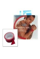 KinkLab KinkLab Bondage Tape Red