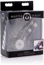 Master Series Master Series Spikes Double Finger Pinwheel