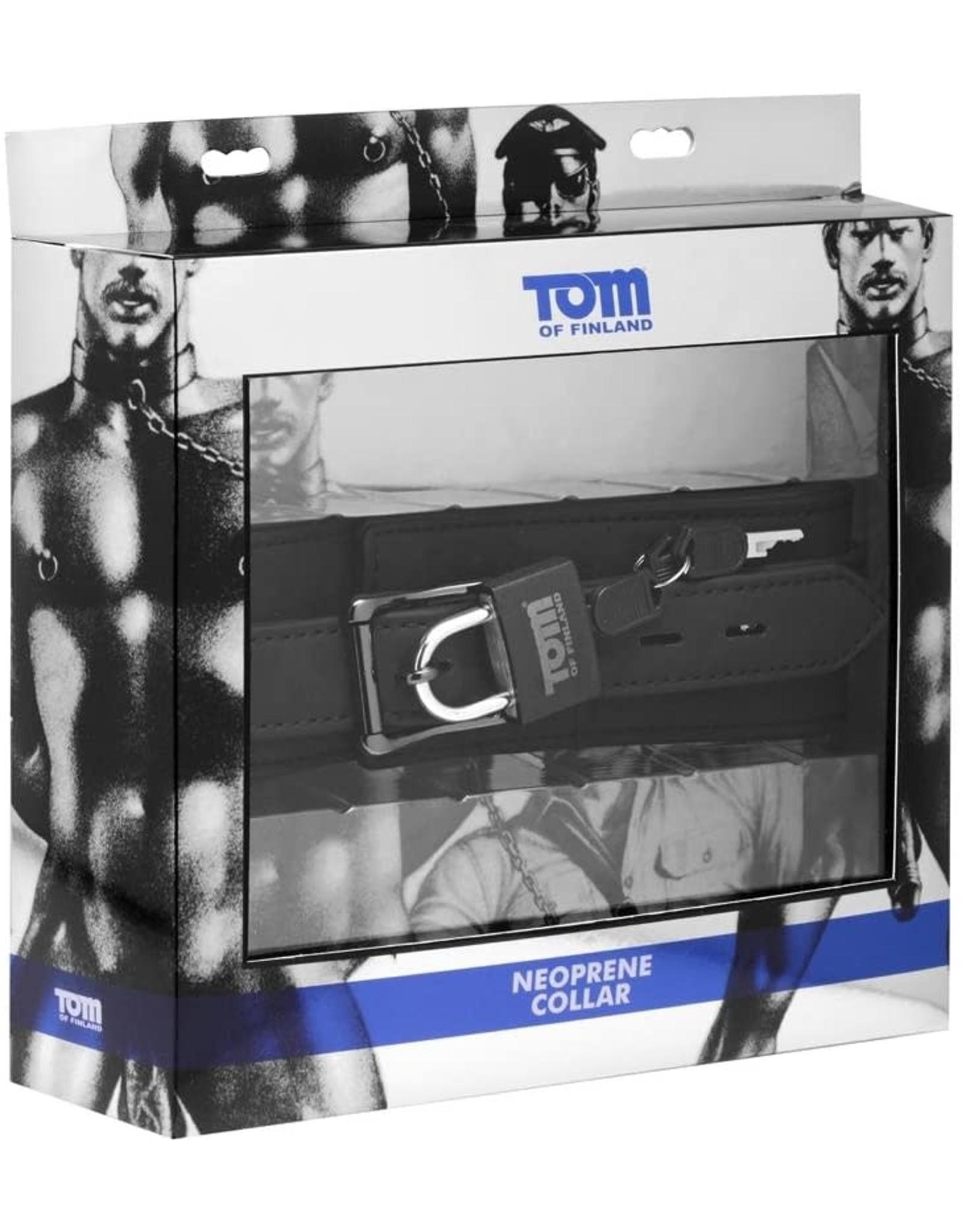 Tom of Finland Tom of Finland Neoprene Locking Collar