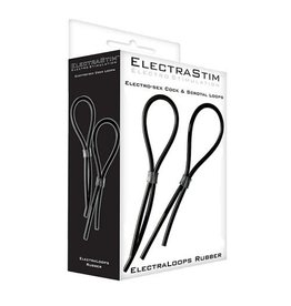 Electrastim Electrastim Rubber Adjustable Cock and Scrotal Loops