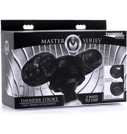 Master Series Master Series Thunder Stroke 2 in 1 Wand Attachment