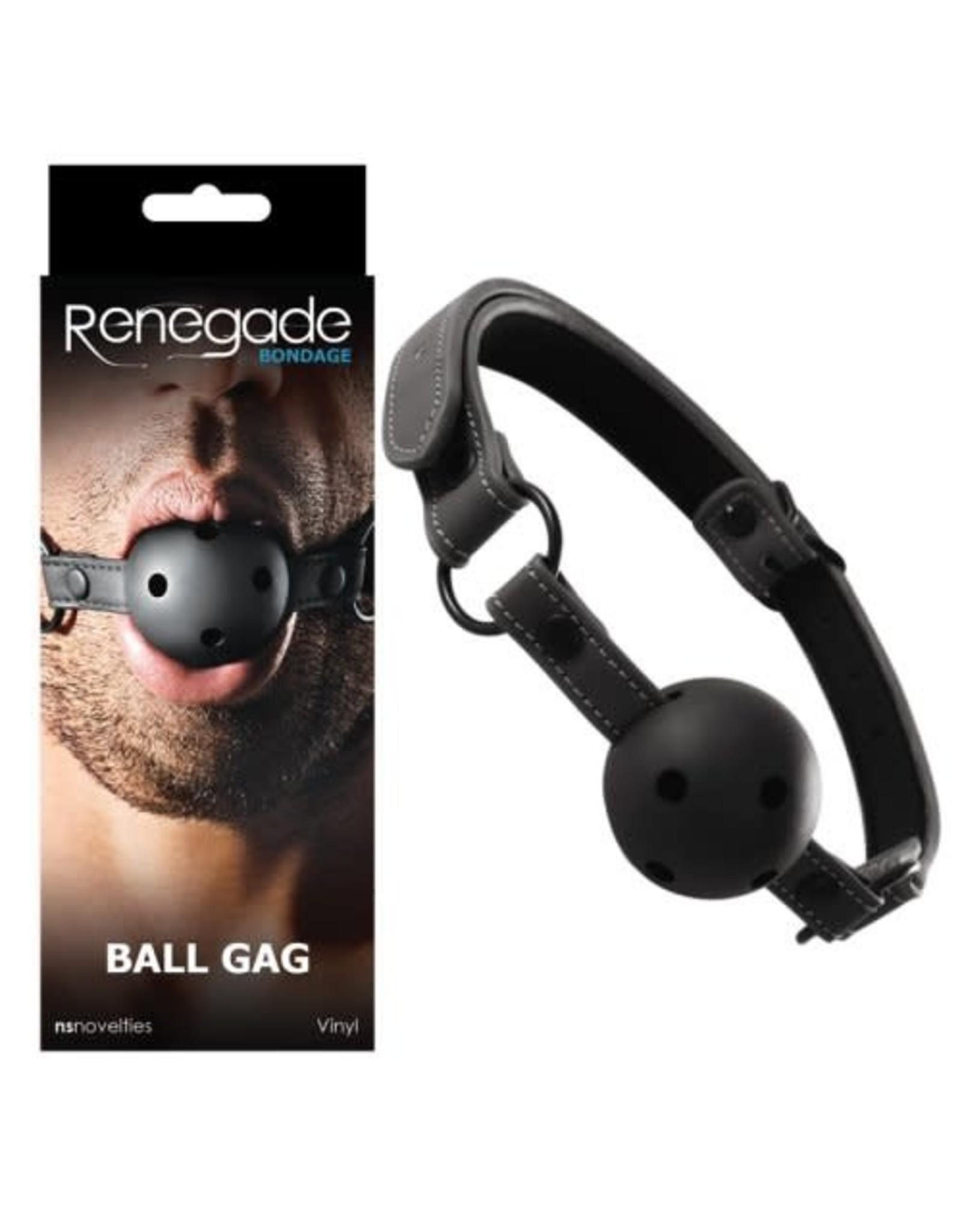 Renegade Renegade - Ball Gag/Blk