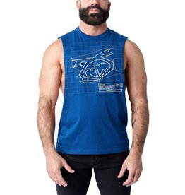 Nasty Pig Nasty Pig Blueprint Shredder Tank Top