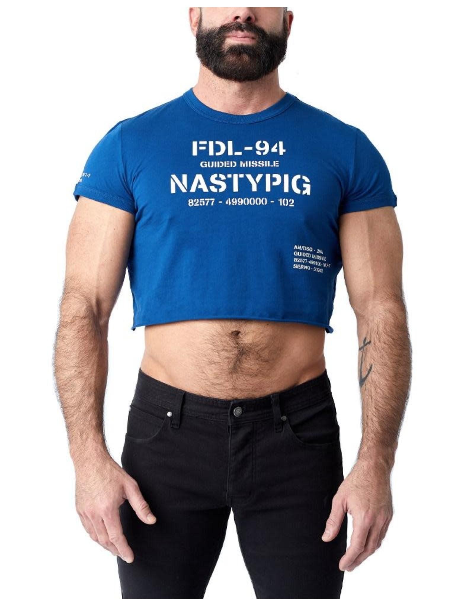 Nasty Pig Nasty Pig Blueprint Crop Top
