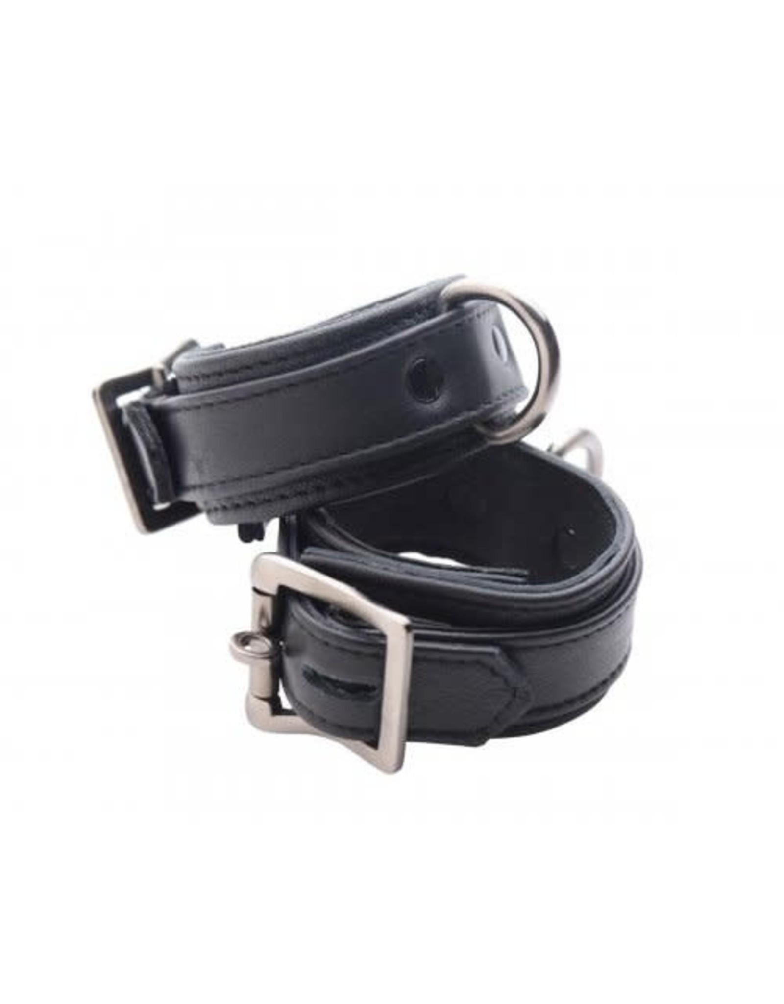 Strict Leather Strict Leather Luxury Locking Wrist Cuffs