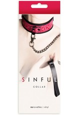 Sinful Collection Sinful Collection Collar Pink