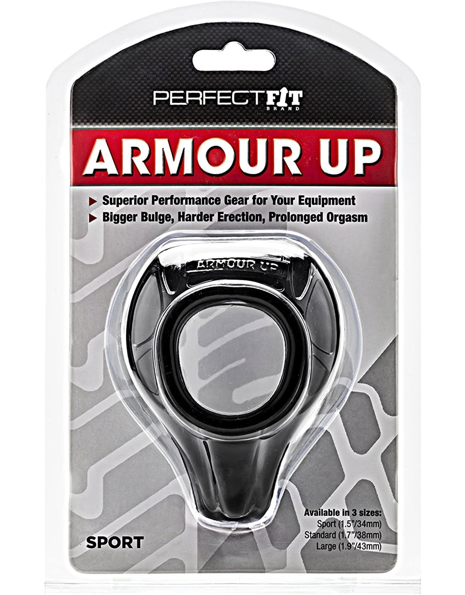 Perfect Fit Brand Perfect Fit Brand Armour Push Sport Black
