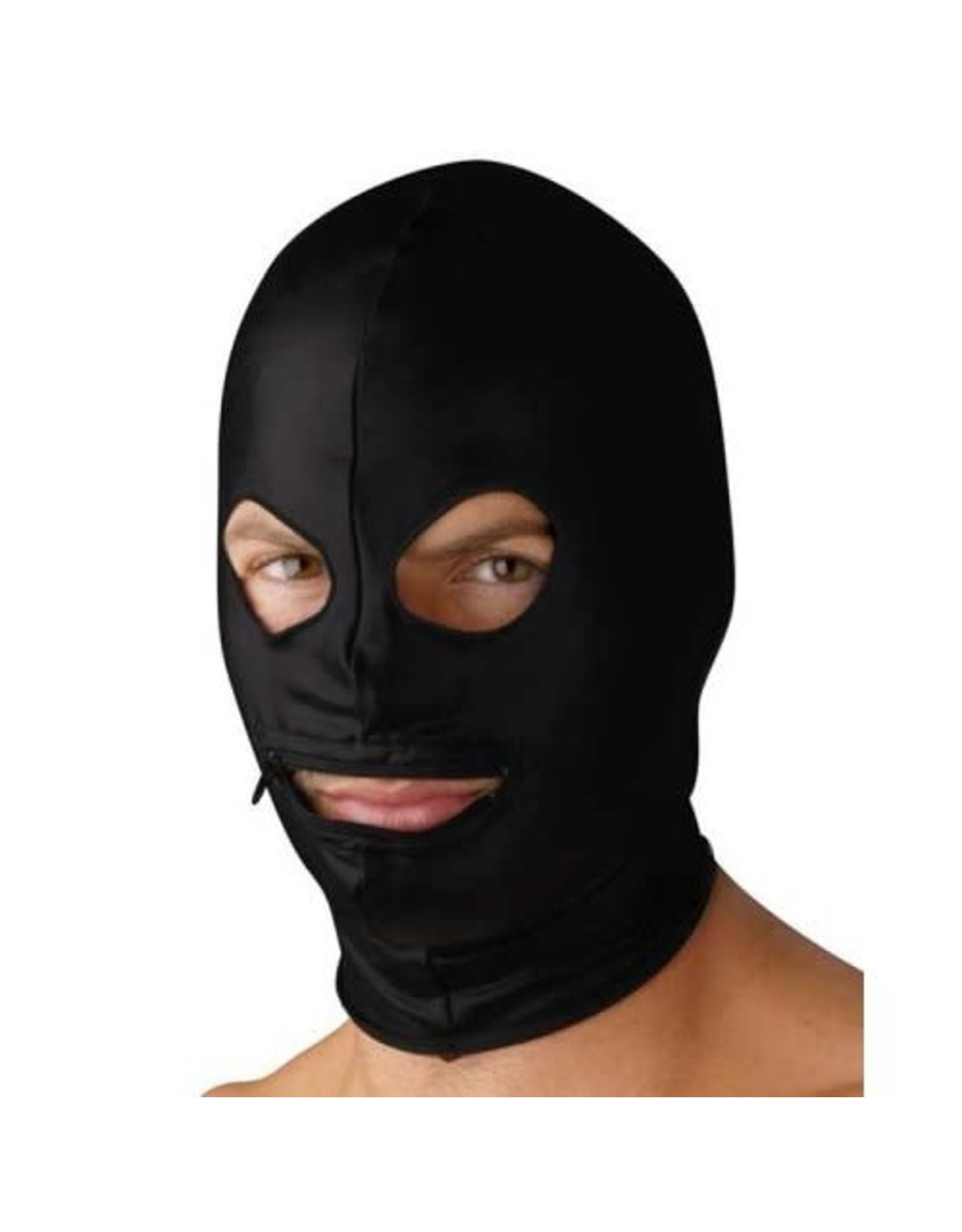 Strict Leather Strict Leather Spandex Zipper Hood/Eye