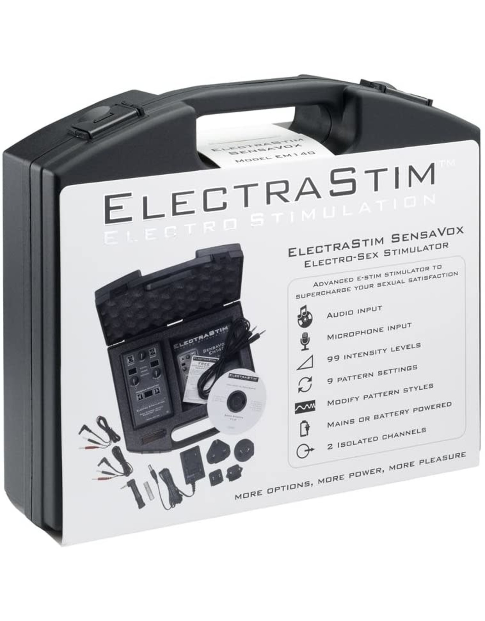 Electrastim ElectroStim Sensavox