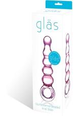 Gläs Gläs Beaded Anal Slider 190mm