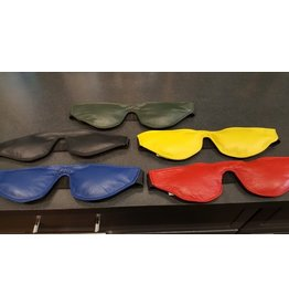 Doghouse Leathers Crafting DH Leathers Padded Leather Blindfold