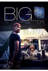 Bruno Gmunder Verlag Independent Brand Bigger is Better 3 By XH4M (Author) Song (Illustrator)