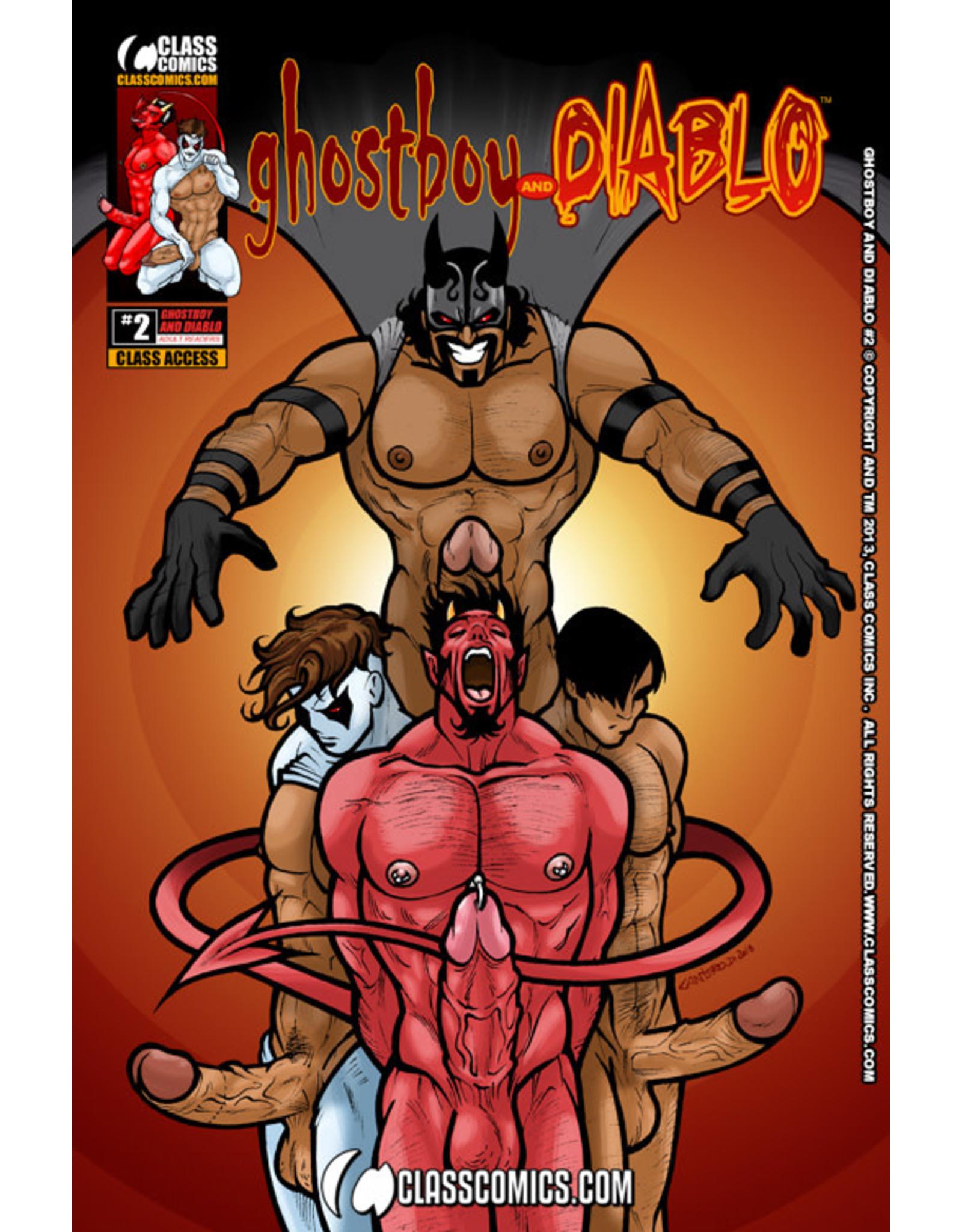 Class Comics Inc. Class Comics Ghostboy and Diablo #2 By Patrick Fillion (Author) David Cantero (Artist)