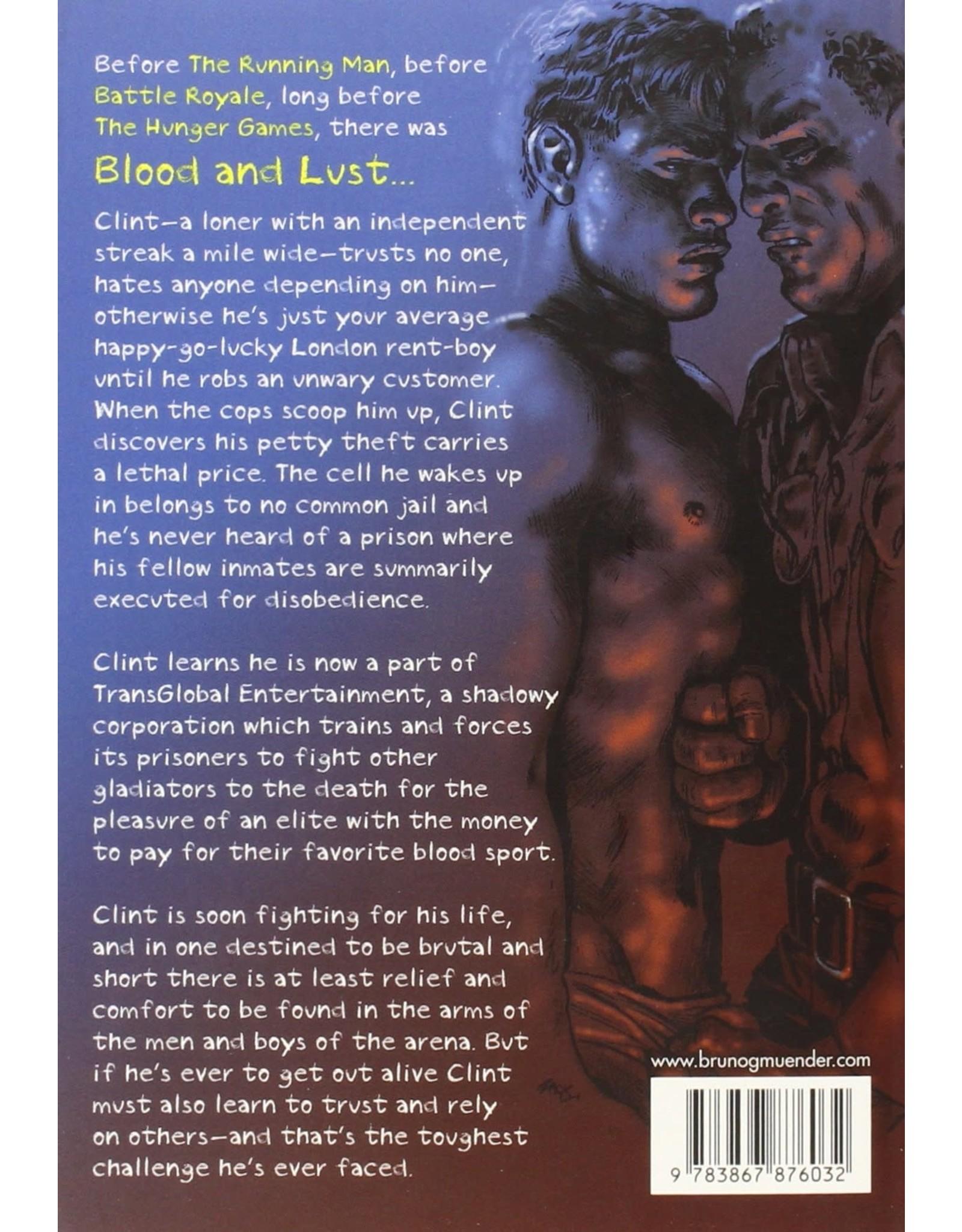 Bruno Gmunder Verlag Independent Brand Blood and Lust By Zack