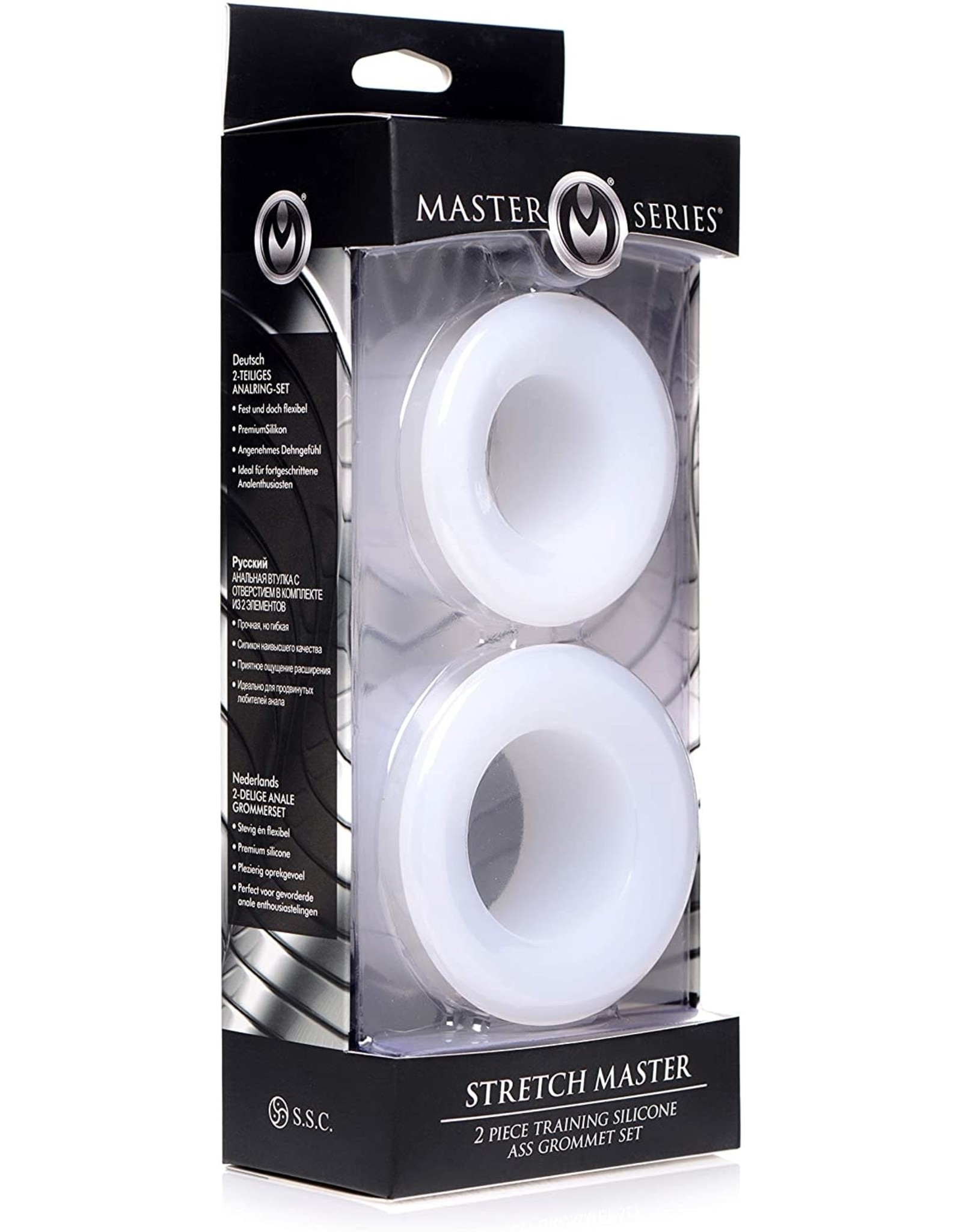 Master Series Master Series Stretch Master Training Silicone Ass Grommet Set