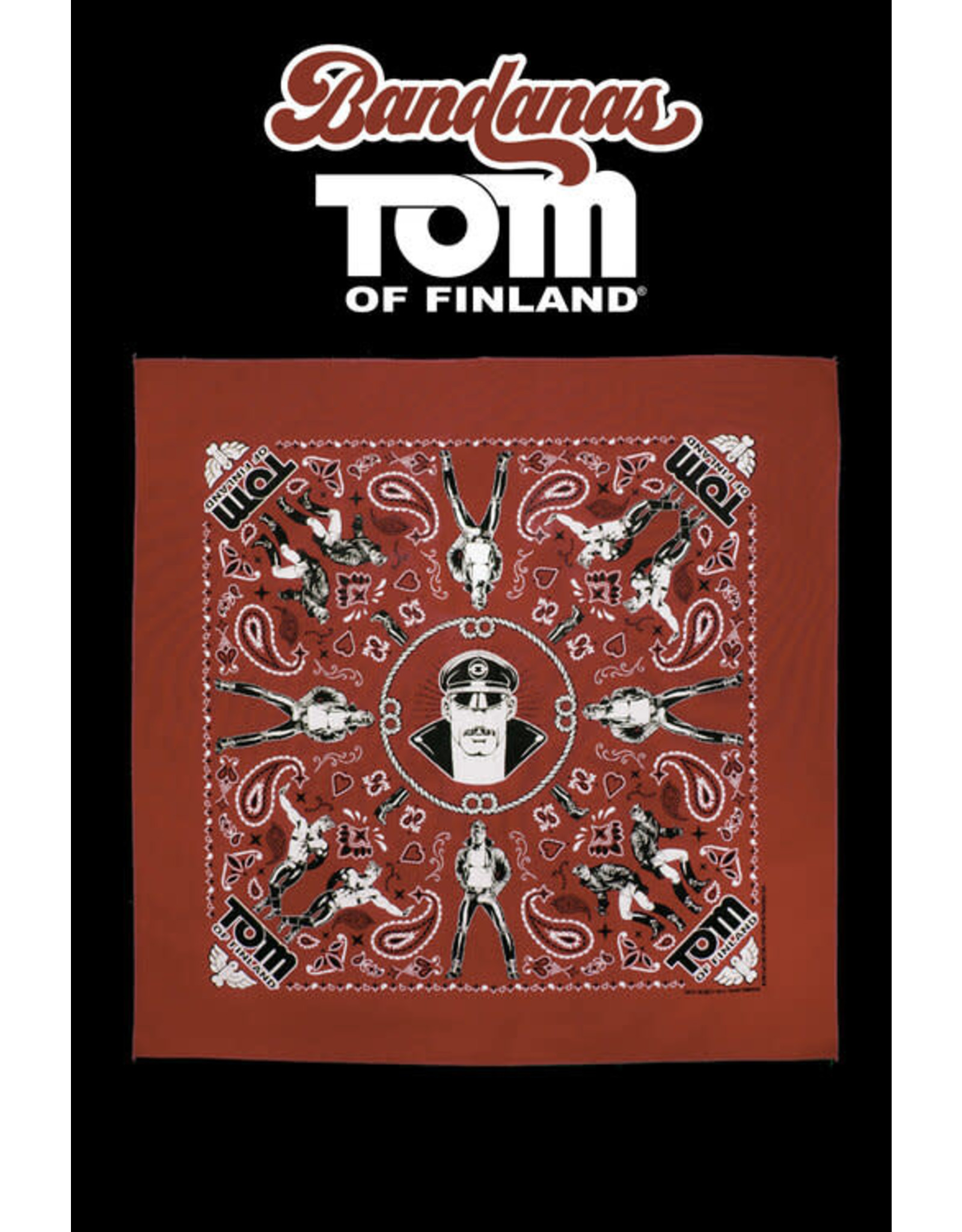 Peachy Kings Tom of Finland Bandanna