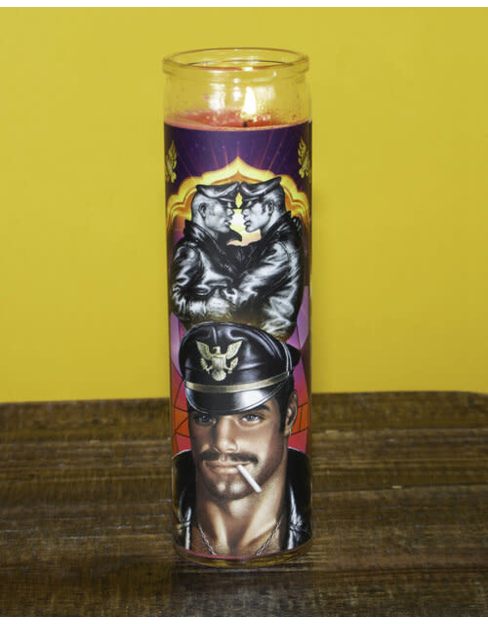 Peachy Kings Tom of Finland Prayer Candles