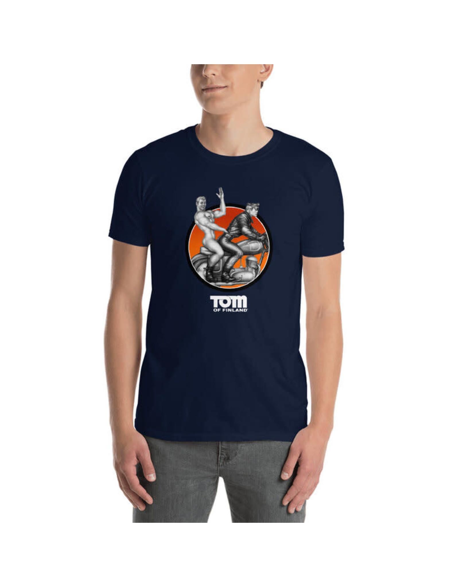 Peachy Kings Tom of Finland Easy Rider T-shirt Navy