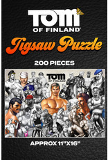Peachy Kings Tom of Finland Jigsaw Puzzle