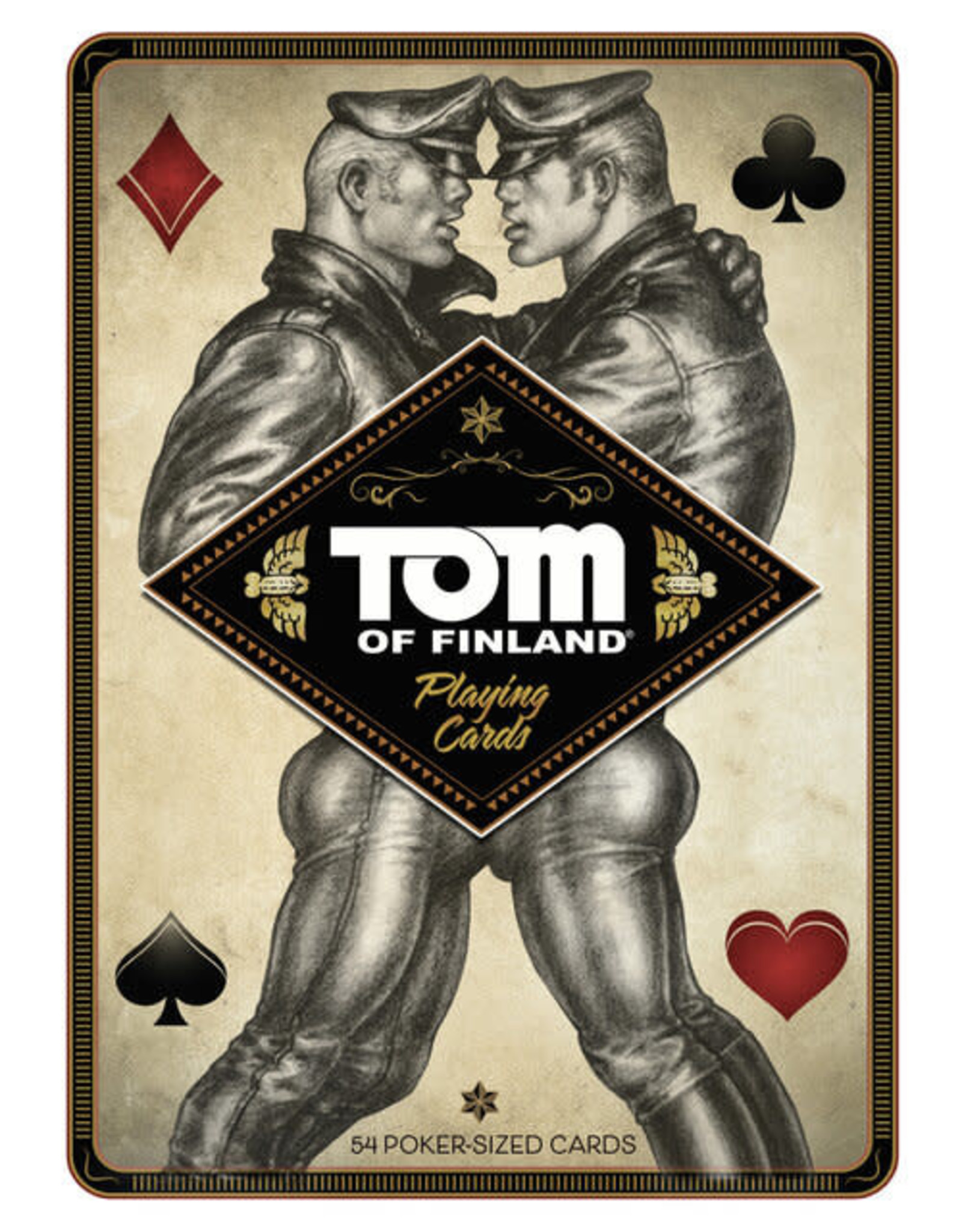 Peachy Kings Tom of Finland Playing Cards