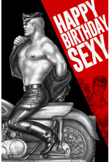 "Peachy Kings Tom of Finland ""Happy Birthday Sexy"" Card"