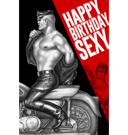 "Peachy Kings Tom of Finland ""Happy Birthday Sexy"" Card"