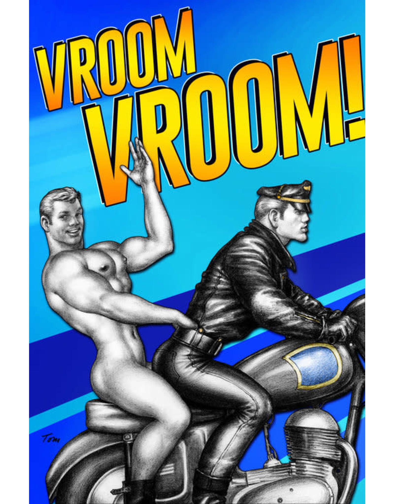 """Peachy Kings Tom of Finland """"Vroom Vroom!"""" Card"""