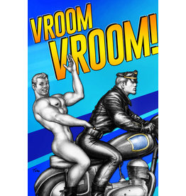 "Peachy Kings Tom of Finland ""Vroom Vroom!"" Card"
