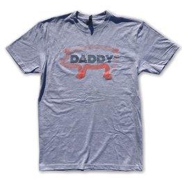 Shane Ruff Studio Burly Shirts Pig Daddy on Grey Shirt
