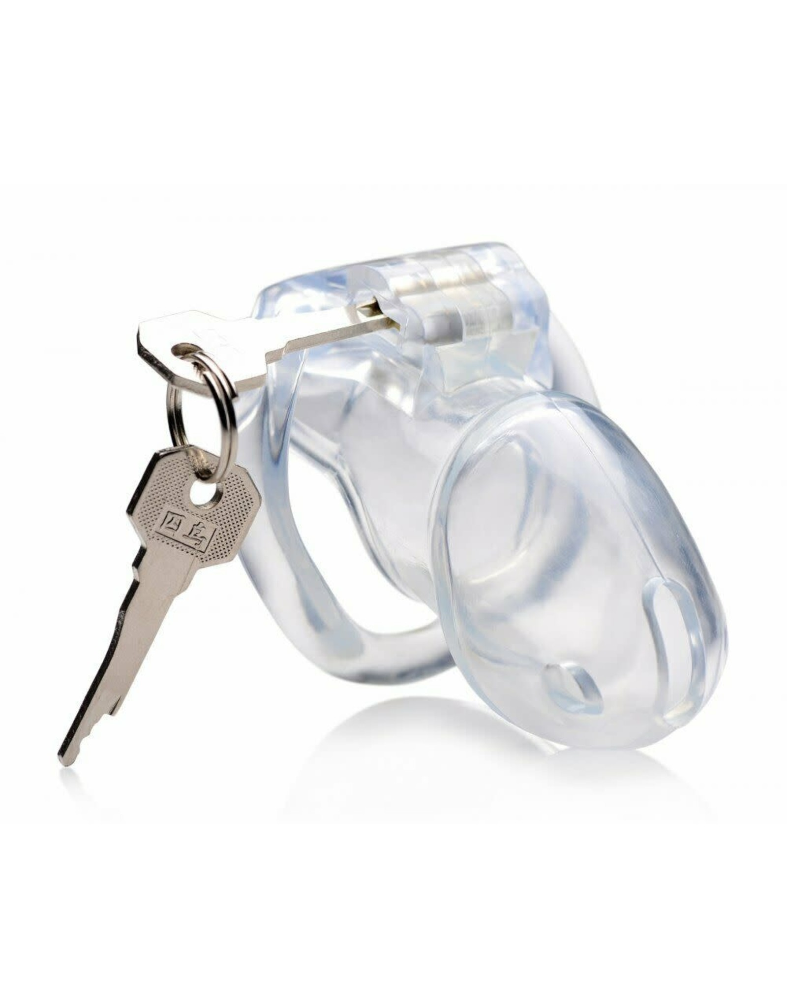 Master Series Master Series Clear Captor Chastity Cage - Medium